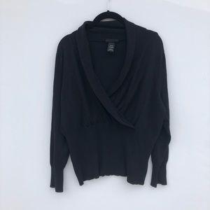 Lane Bryant Black Knit Sweater